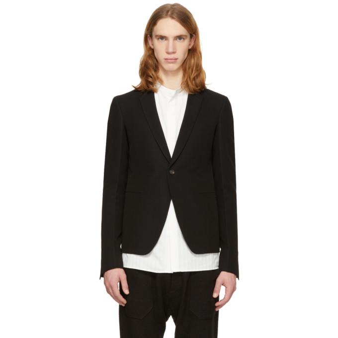 Rick Owens Black Soft Short Blazer men Suits & Blazers [2434338 .