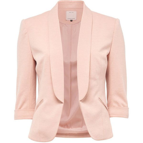 SHORT BLAZER - Only ($55) ❤ liked on Polyvore featuring outerwear .