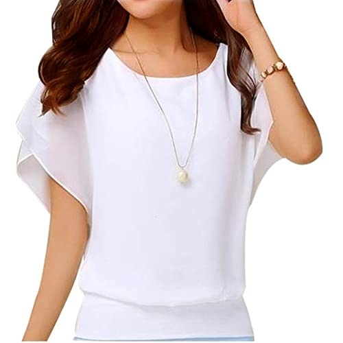 Short Sleeve Blouses: Amazon.c