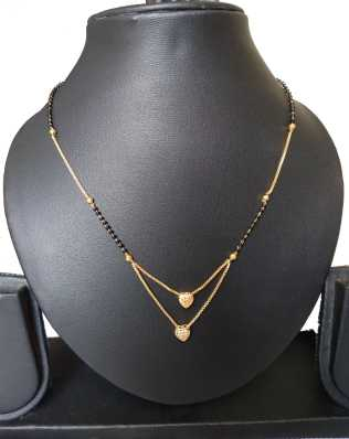 Short Mangalsutra - Buy Latest Short Mangalsutra Designs Online at .