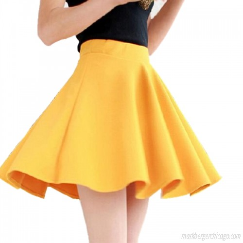 YSDNCHI Pleated Skirts Short Skirt for Women 2018 All Fit Tutu .