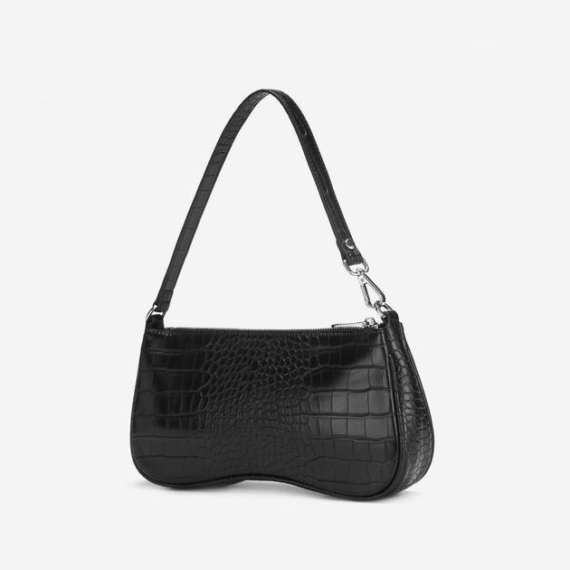 Black Baguette Bag - Sign Up And Save 10% Off - JW P