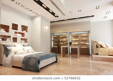 Beautiful Bedroom Interior Showcase Images, Stock Photos & Vectors .
