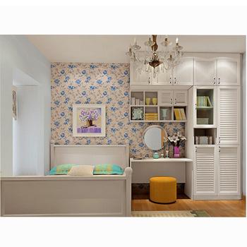 Designer wooden almari Bedroom wardrobe Simple living room .
