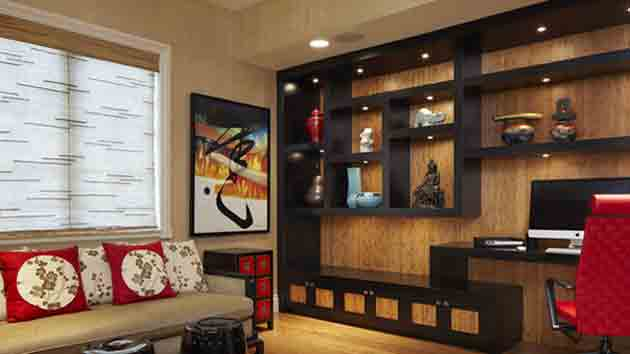 A Showcase of 15 Modern Living Room Designs with Asian Influence .