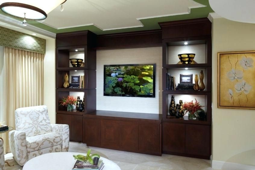 Beautiful Showcase Design For Hall In India (With images) | Living .