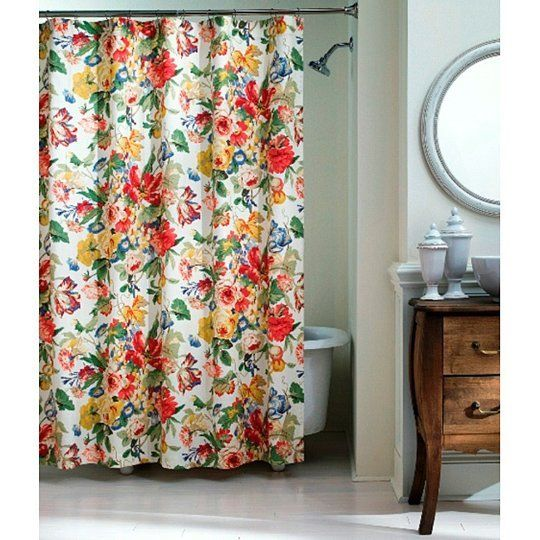 Showers & Flowers: Floral Shower Curtains Under $50 (With images .