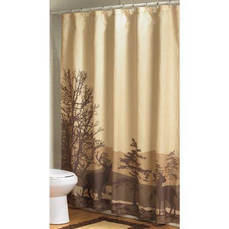 Country Shower Curtains | Deer Ridge Bathroom Shower Curtain photo .