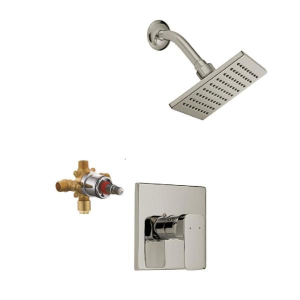 Design House Karsen Single Handle 1-Spray Tub and Shower Faucet .