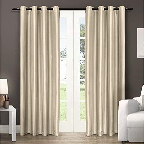Silk Curtains: Amazon.c