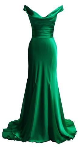 Emerald green silk dress This is so my style. I would love this in .
