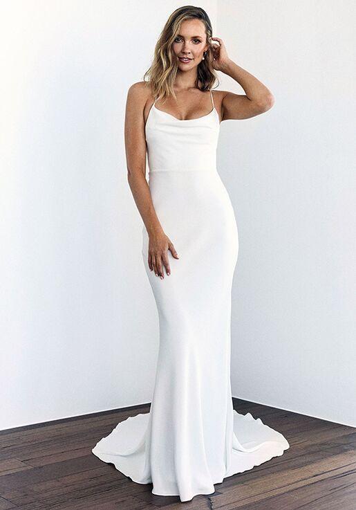 Grace Loves Lace Honey Silk Wedding Dress | The Kn