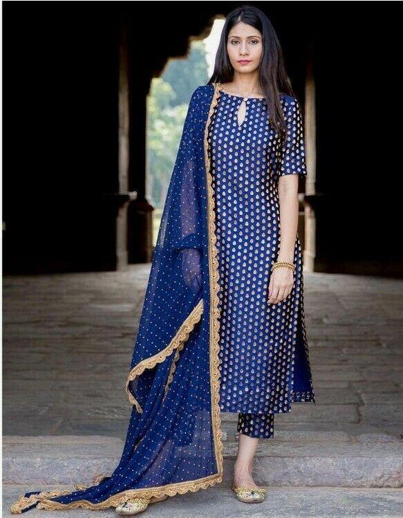 Silk Salwar Suits Designs