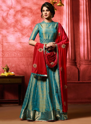 15 Opulent Silk Salwar Suits For Every Occasion! | Styles At Li