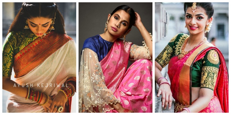 Silk Saree Blouse Designs