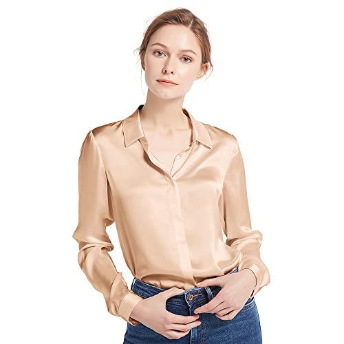 Women's Silk Blouses: Amazon.c
