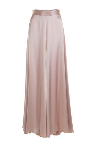 Jessica Choay Silk Skirt (With images) | Silk dress long, Long .