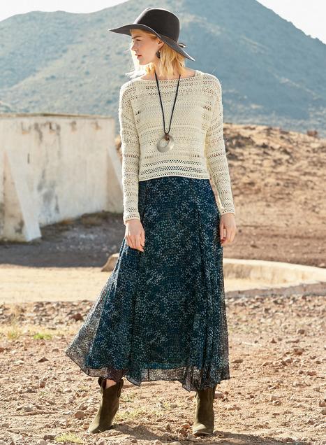 Sierra Nevada Silk Skirt - Peruvian Connecti