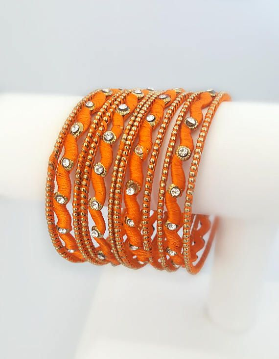 100%HANDMADE Custom designed bangles**** *1 set consist of 4 .