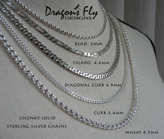 Sterling Silver Chain CHUNKY | Et