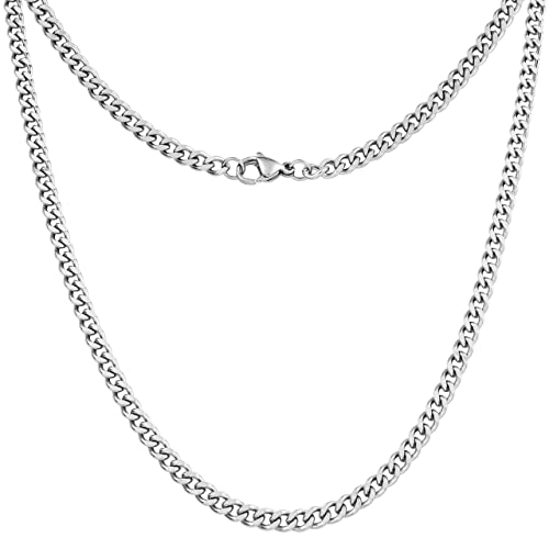 Real Silver Chains: Amazon.c