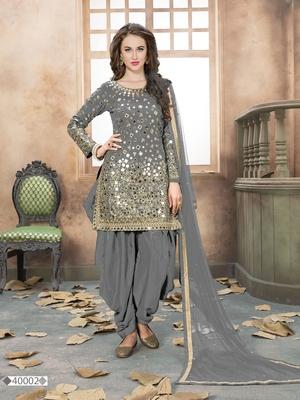 Silver Salwar Suits