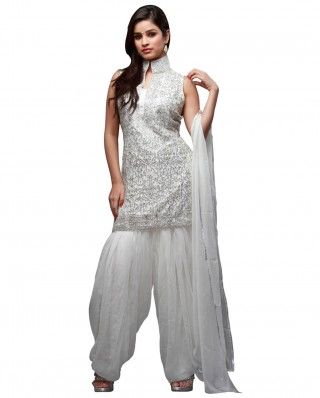 $268 Look glamorous in this shiny silver dress. This suit has .