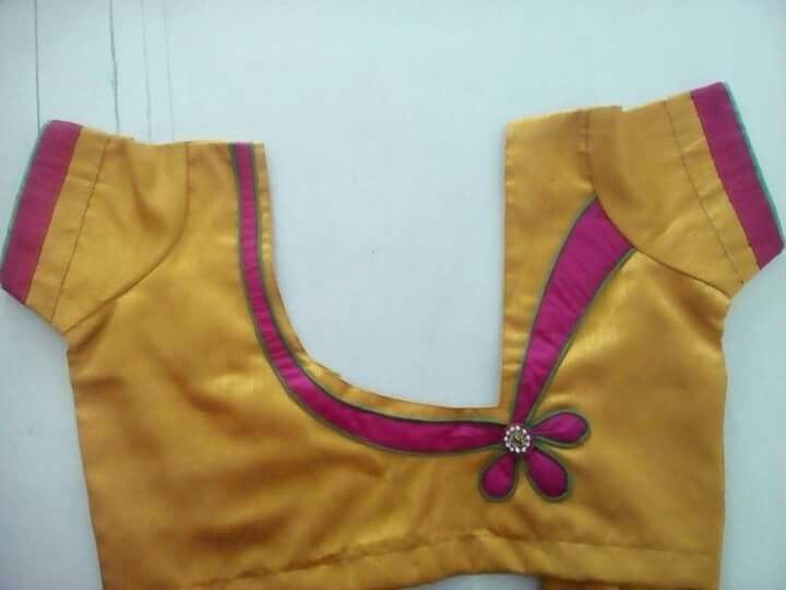 Blouse design | Fancy blouse designs, Trendy blouse designs .