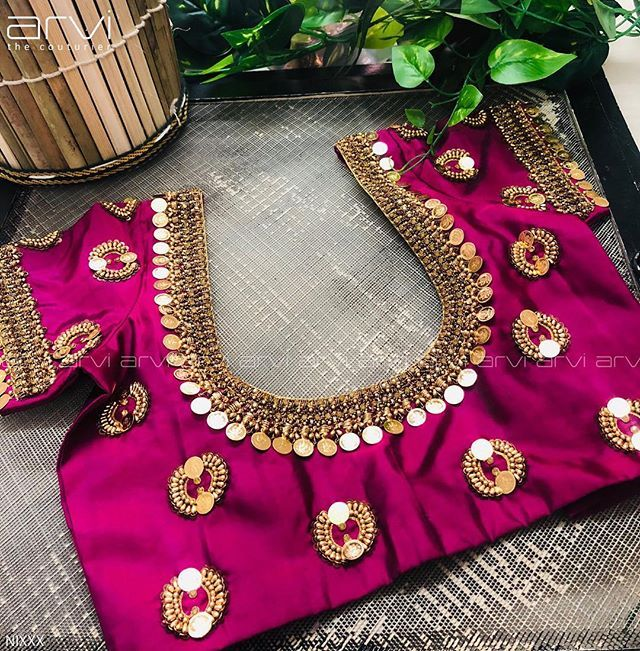 Neckline Embroidery for classy lovers #classy #classypeople #class .