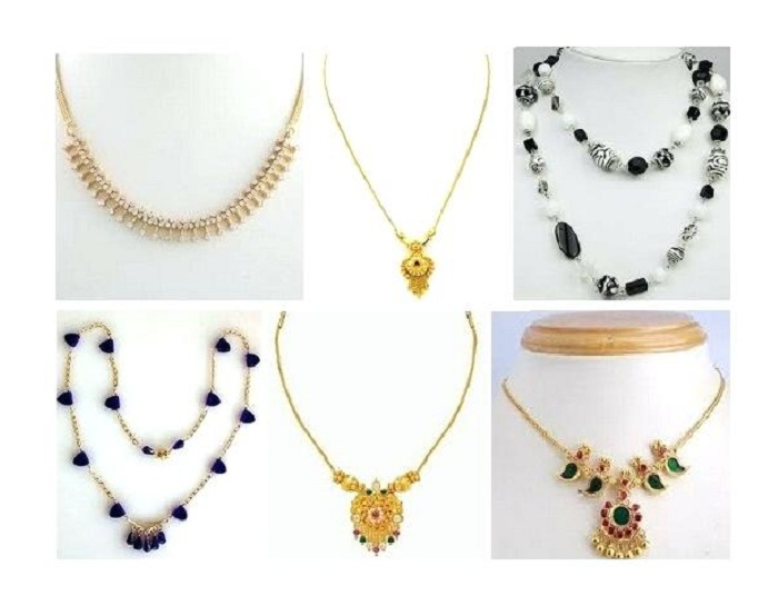 15 Latest Simple Necklace Designs for Women in Fashi