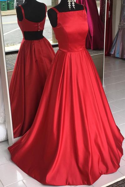 Simple Prom Dress – DressesTail