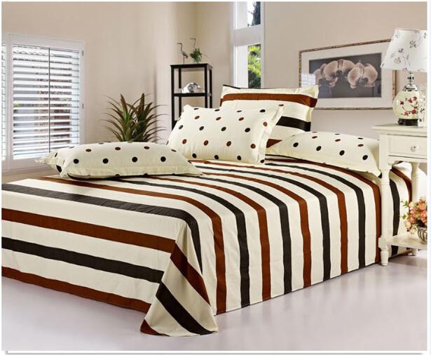 Fashionable design bed sheet single bed sheet printed baby cartoon .