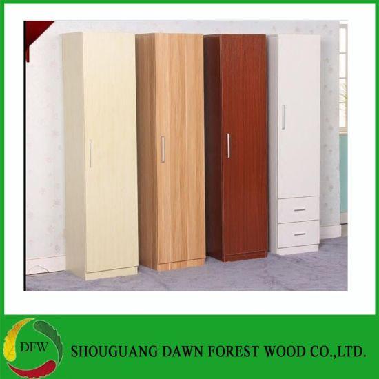 China Single Door Melamine Wardrobe Design Furniture Bedroom .