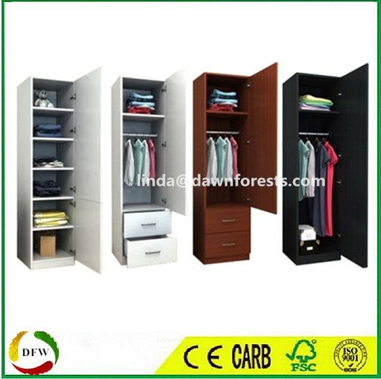 China Bedroom Furniture Single Door Wall Designs Wardrobe Cabinet .