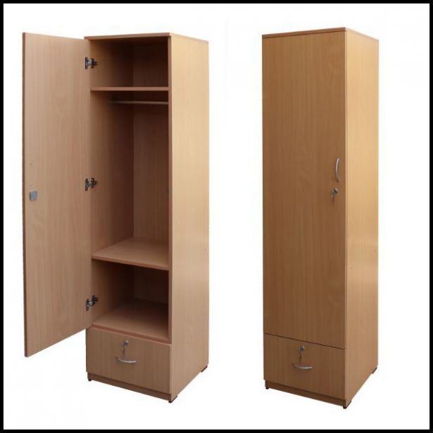 Countertops Single Door Wooden Wardrobe Ideas (With images .