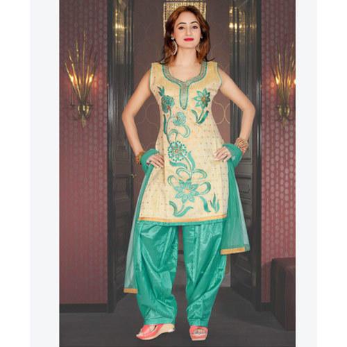 Chiffon Regular Sleeveless Ladies Salwar Suit, Rs 695 /piece .