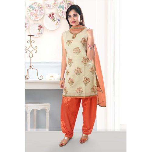Ladies Sleeveless Salwar Suit, Size: L & XL, Rs 1000 /piece Harsha .