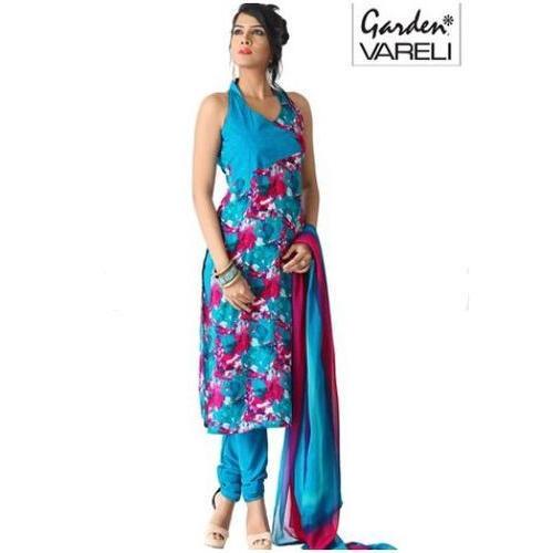 Garden Vareli Sleeveless Salwar Kameez, Rs 725 /piece Garden Silk .