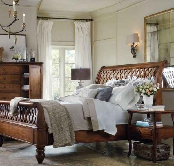 50 Sleigh Bed Inspirations For A Cozy Modern Bedro