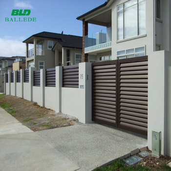 Factory Price Ornamental Fence Aluminum Sliding Gates Design, View .
