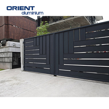 sliding gate drawing, guide rail sliding gate, sliding house gate desi
