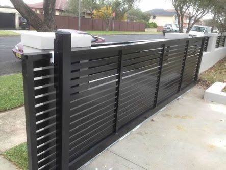 aluminium sliding gates nz - Google Search: (With images) | Modern .