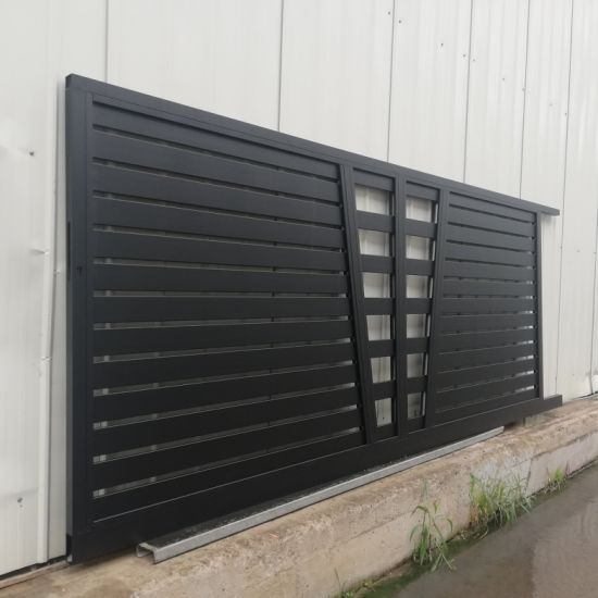 China New Design Maintenance Free Aluminum Sliding Gate for .