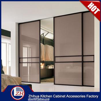 Laminate bedroom wardrobe designs sliding wardrobe door roller .