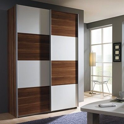 The Quadra 2 Door Sliding Wardrobe - Wardrobes At Barker with 2 .