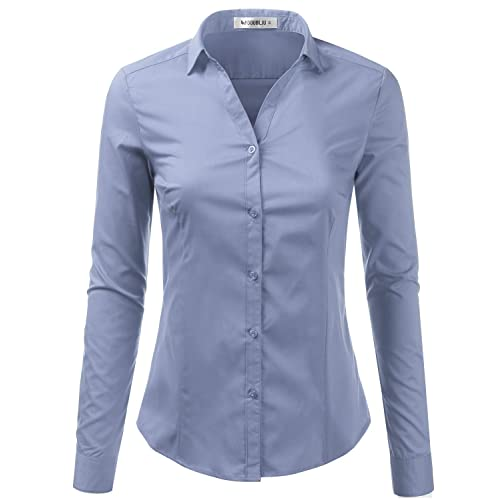 Women's Fitted Shirts: Amazon.c