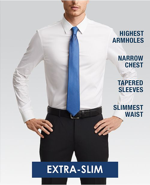Calvin Klein X Men's Extra-Slim Fit Thermal Stretch Performance .