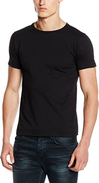 Fruit of the Loom Mens Fitted Valueweight Short Sleeve Slim Fit T .