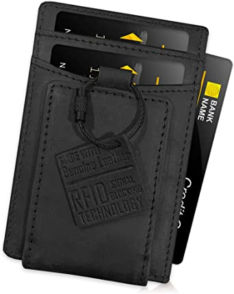 FIDELO Minimalist Slim Wallets for Men - POWERFUL Magnetic Money .