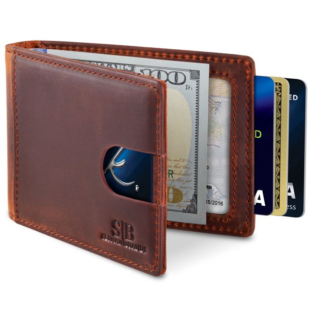 Serman Brands - SERMAN BRANDS Slim Wallets for Men. Mens Wallet .